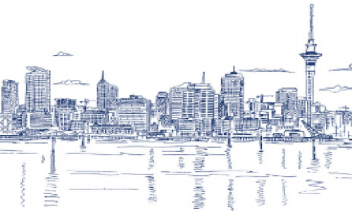 Sketch of Auckland city